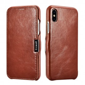 iCarer Vintage Case for iPhone X - Brown