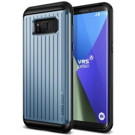 VRS Design Hard Drop Case for Samsung Galaxy S8 - Waved Blue Coral