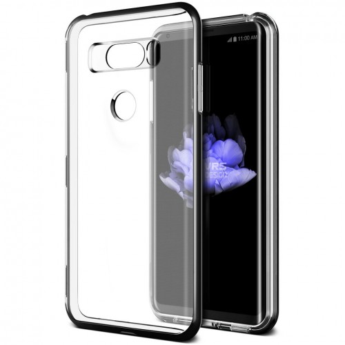 VRS Design Crystal Bumber Case for LG V30 - Metal Black