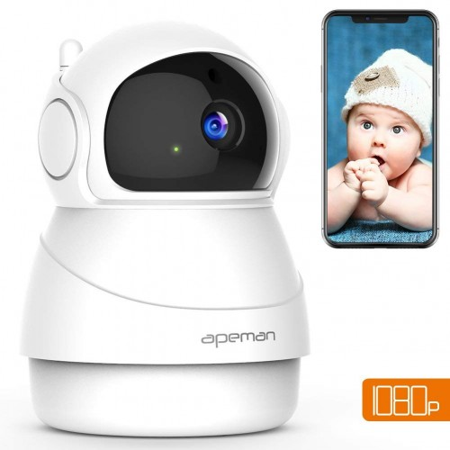 Apeman ID73 IP Camera 1080p - White