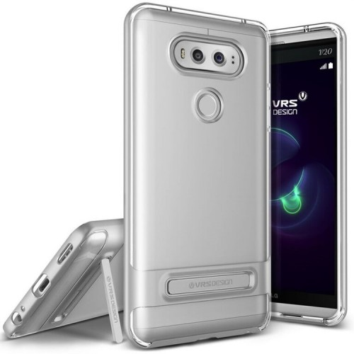 VRS Design Crystal Bumber LG V20 - Light Silver
