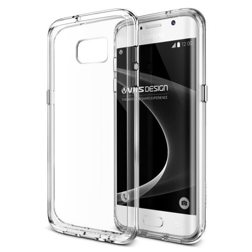 VRS Design Crystal MIXX Case for Samsung Galaxy S7 Edge - Clear