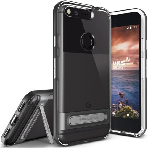 VRS Design Crystal Bumber Case for Google Pixel - Dark Silver