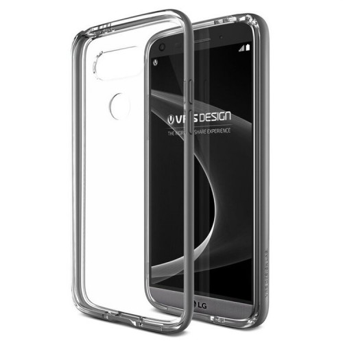 VRS Design Crystal Bumber Case for LG G5 - Steel Silver