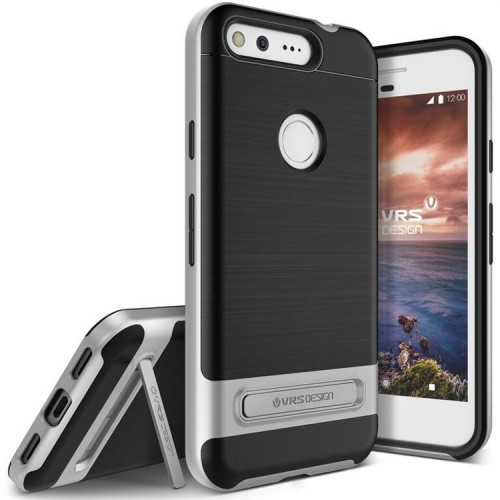 VRS Design High Pro Shield Case for Google Pixel - Light Silver