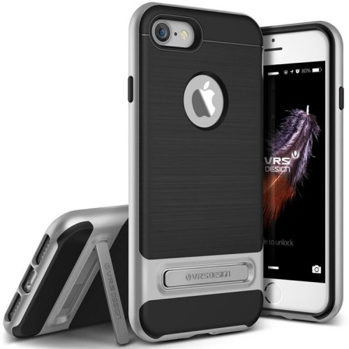 VRS Design High Pro Shield Case for iPhone 7 - Light Silver
