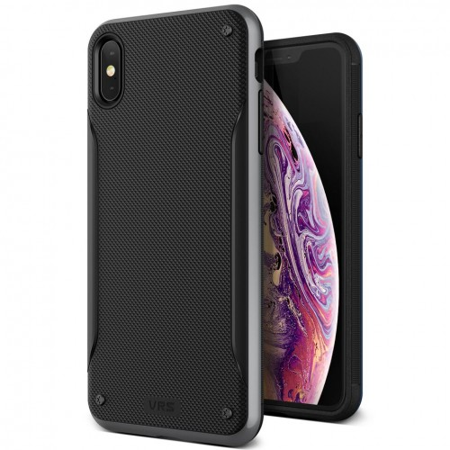 VRS Design High Pro Shield Case for iPhone Xs Max - Steel Silver