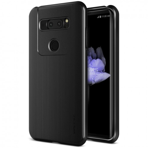 VRS Design High Pro Shield Case for LG V30 - Metal Black