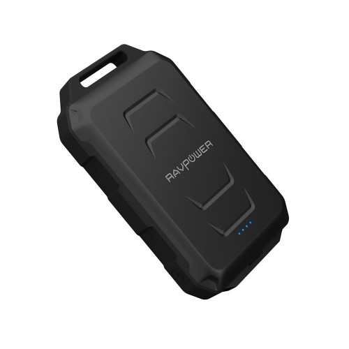 RAVPower Portable Charger 10050 mAh Waterproof & Dustproof - Black
