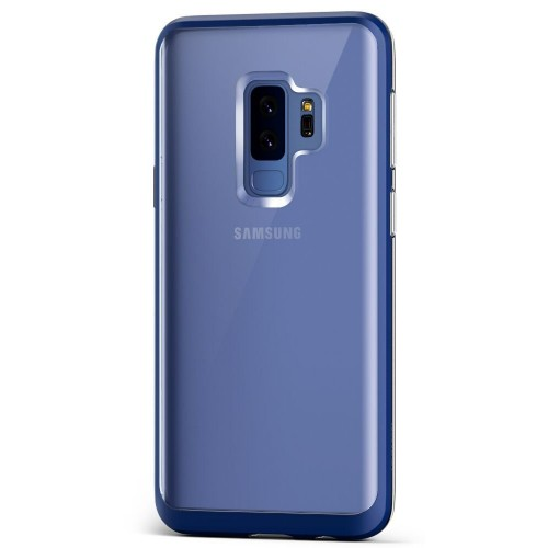 VRS Design Crystal Bumber Case for Samsung Galaxy S9 Plus - Deep Sea Blue