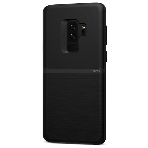 VRS Design Single Fit Case for Samsung Galaxy S9 Plus - Black