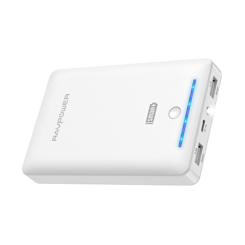RAVPower RP-PB19 Portable Charger 16750 mAh - White