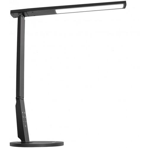 TaoTronics Desk Lamp LED 15W με ρυθμιζόμενο βραχίονα & usb port - Black