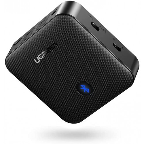 UGREEN Bluetooth 5.0 Receiver 3,5 mm AUX, aptX Black
