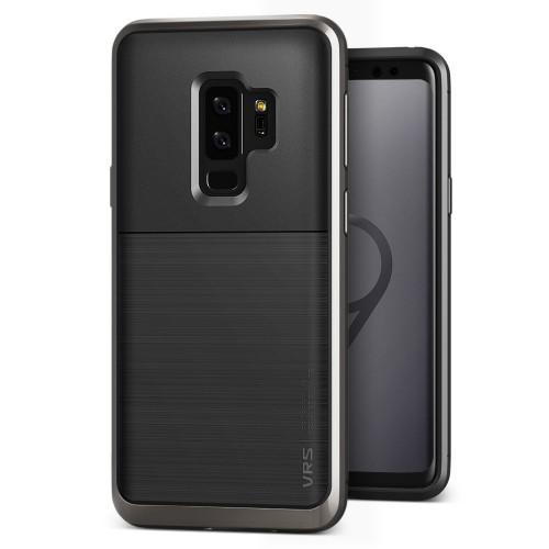 VRS Design High Pro Shield Case for Samsung Galaxy S9 Plus - Metal Black