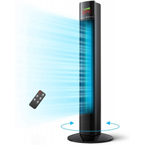 TaoTronics TT-TF002 Fan Tower χωρίς Λεπίδες 90cm with Remote Control