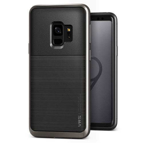 VRS Design High Pro Shield Case for Samsung Galaxy S9 - Metal Black