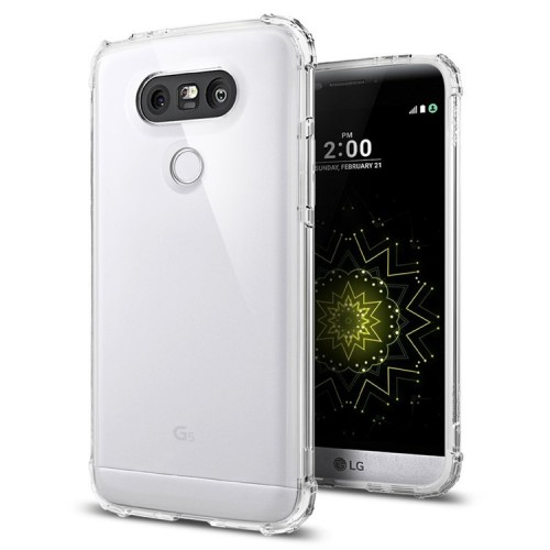 Spigen Crystal Shell Case for LG G5 - Clear Crystal