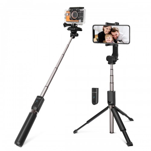 BlitzWolf Bluetooth Selfie Stick & Tripod with Remote Controller 2-in-1
