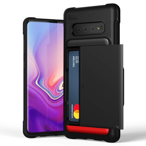 VRS Design Damda Shield Case for Samsung Galaxy S10 Plus - Matt Black
