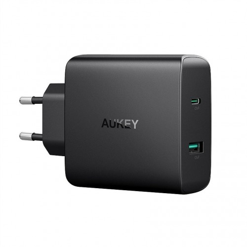 Aukey Ultra Portable Turbo Charger 56.5W USB C - Dual