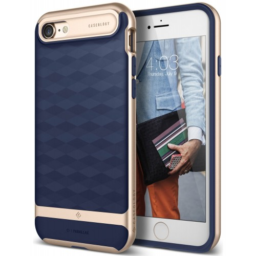 Caseology Parallax Case for iPhone 7 - Navy Blue