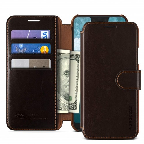VRS Design Dandy Layered Case for Google Pixel 3 XL - Brown