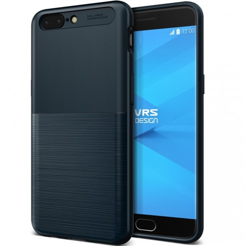 VRS Design Single Fit Case for OnePlus 5 - Navy