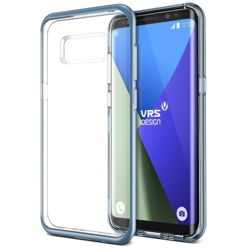 VRS Design Crystal Bumber Case for Samsung Galaxy S8 - Blue Coral