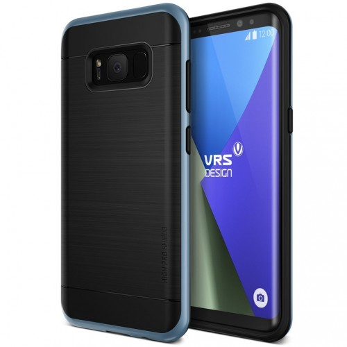 VRS Design High Pro Shield Case for Samsung Galaxy S8 Plus - Blue Coral