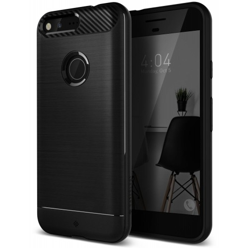 Caseology Vault II Case for Google Pixel XL - Black