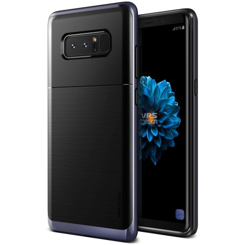 VRS Design High Pro Shield Case for Samsung Galaxy Note 8 - Orchid Gray