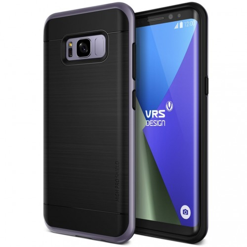 VRS Design High Pro Shield Case for Samsung Galaxy S8 Plus - Orchid Gray