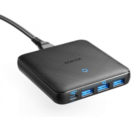 Anker PowerPort Atom III Slim Charging Station - 65W