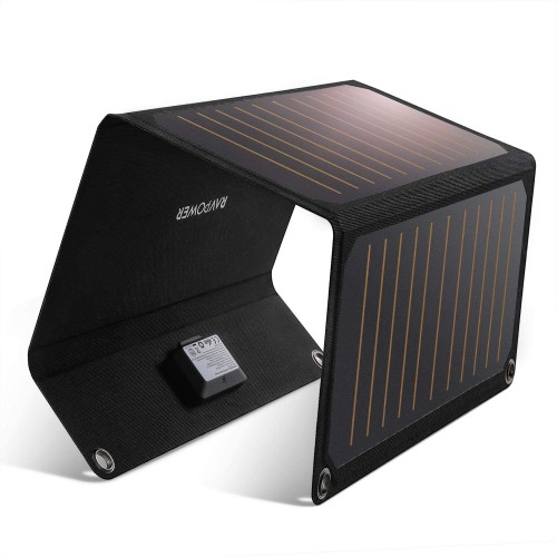 RAVPower RP-PC118 Solar Charger 21W - 2 Ports