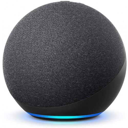 Amazon Echo (4th Gen) Smart Speaker With Alexa - Black (EU Adpater included)