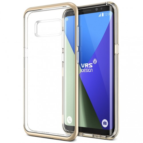 VRS Design Crystal Bumber Case for Samsung Galaxy S8 Plus - Shine Gold