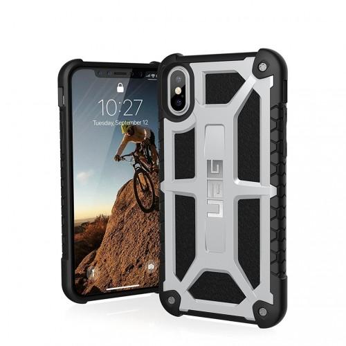 UAG Monarch Case for iPhone X - Platinum
