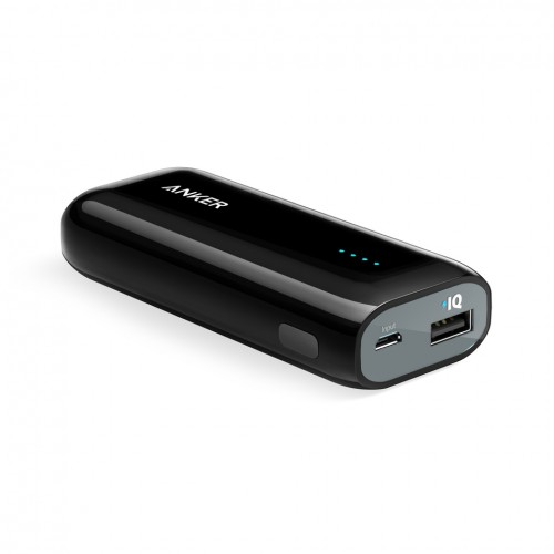 Anker Astro E1 5200 mAh Portable Charger - Black