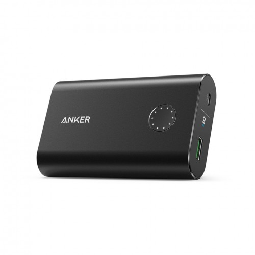 Anker Aluminium PowerCore+ 10050mAh Quick Charge 3.0 - Black