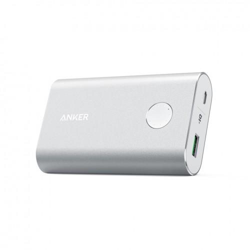 Anker Aluminium PowerCore+ 10050mAh Quick Charge 3.0 - silver