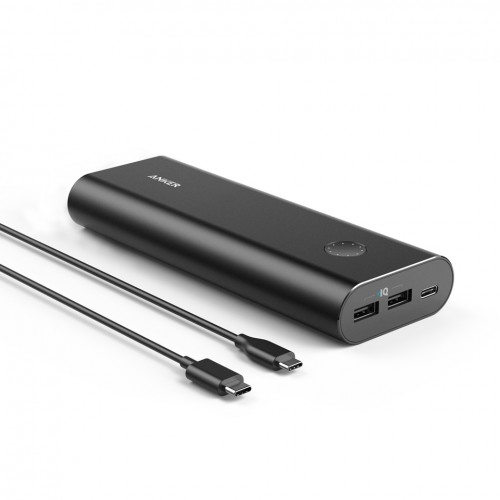 Anker PowerCore+ 20100 mAh with USB-C Port - Black