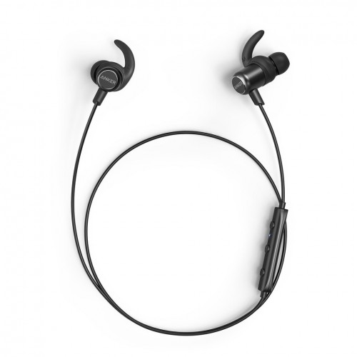 Anker SoundBuds Slim+ Wireless Headphones - Black