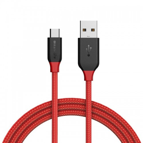 BlitzWolf Micro USB cable BW-MC4 1m Red