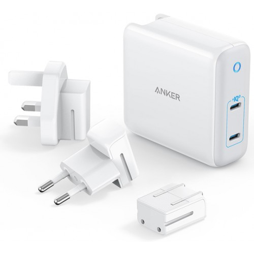 Anker PowerPort III Atom 2-Port Charger 60W με Power Delivery και GaN - White