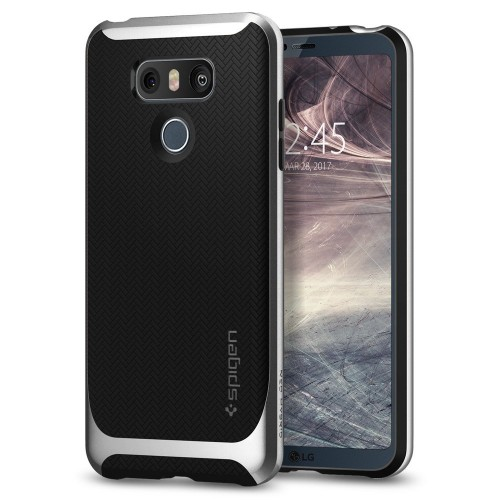 Spigen Neo Hybrid Case for LG G6 - Satin Silver
