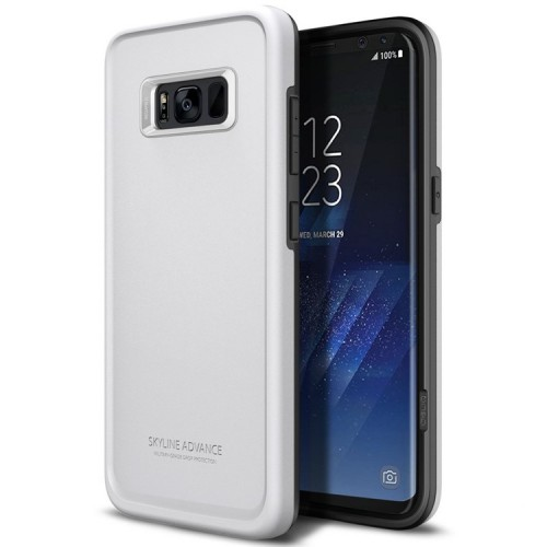 Obliq Skyline Advance Case for Samsung Galaxy S8 - White