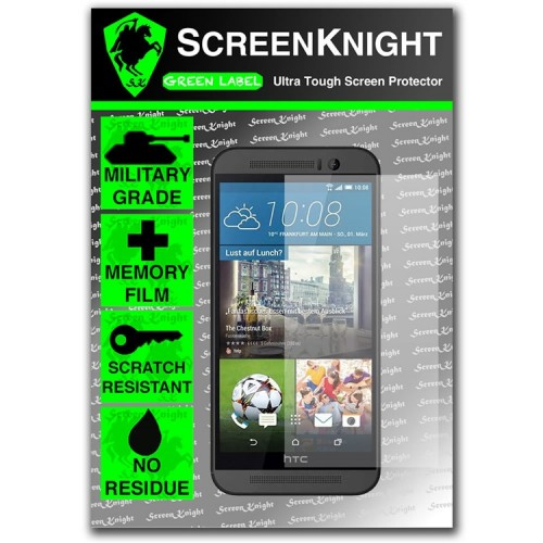 ScreenKnight Screen Protector for HTC M9 - Military Shield