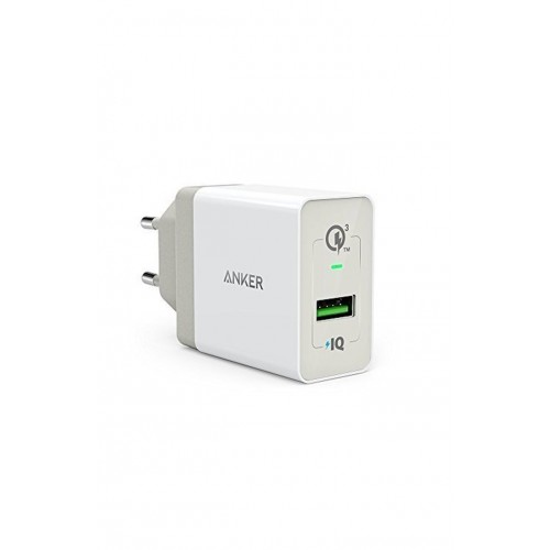 Anker PowerPort+ 1 with Quick Charge 3.0 - White
