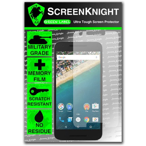 ScreenKnight Screen Protector for LG Nexus 5X - Military Shield
